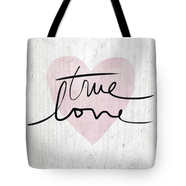 True Love Rustic- Art By Linda Woods Tote Bag