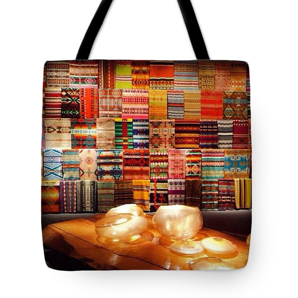 The Vision Of Chihuly  Tote Bag