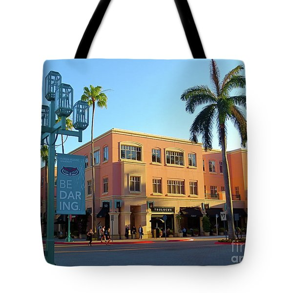 Truluck's Restaurant In Beautiful Mizner Park. Boca Raton, Fl. Tote Bag