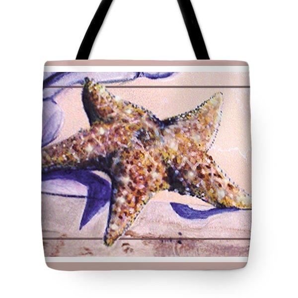 Trum L'oeil.star Fish Tote Bag