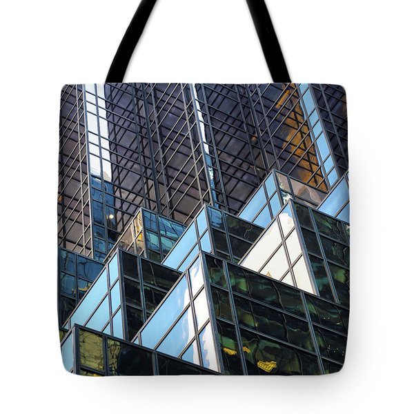Tote Bag featuring the photograph Trump Tower by Mitch Cat