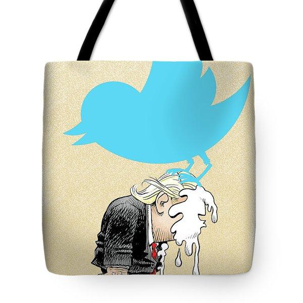 Trump Twitter Poop Tote Bag