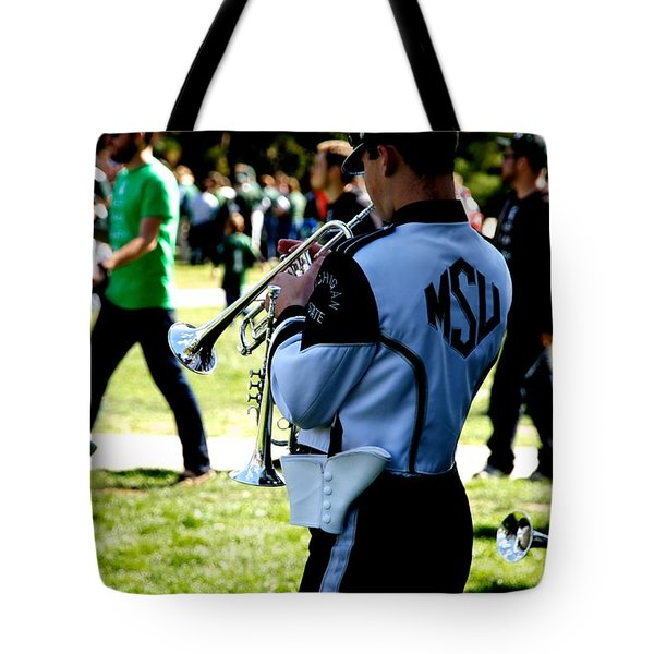 Trumpet Tote Bag by Joseph Yarbrough