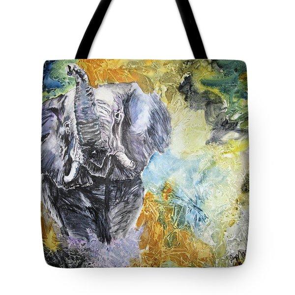 Trumpet Tote Bag by Maris Sherwood