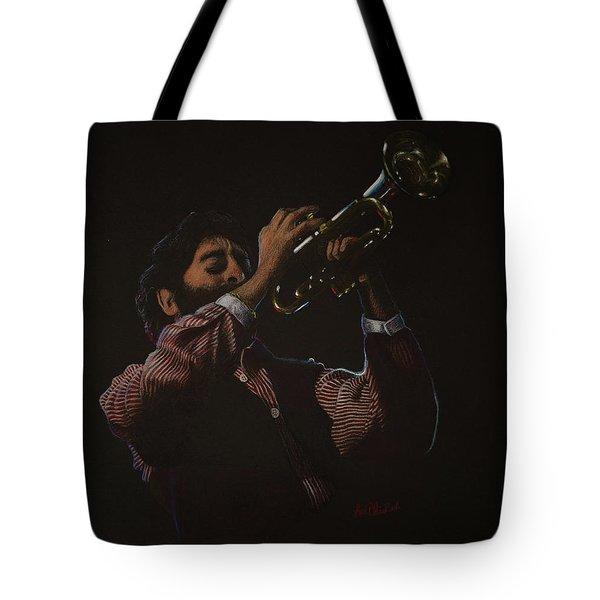 Trumpeteer Tote Bag