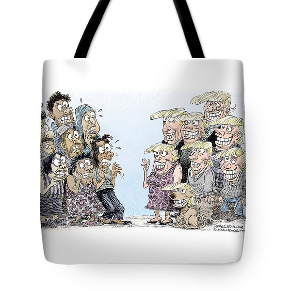 Trumpettes Horror Tote Bag