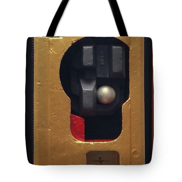 Tote Bag featuring the painting Trump's Promises by James Lanigan Thompson MFA