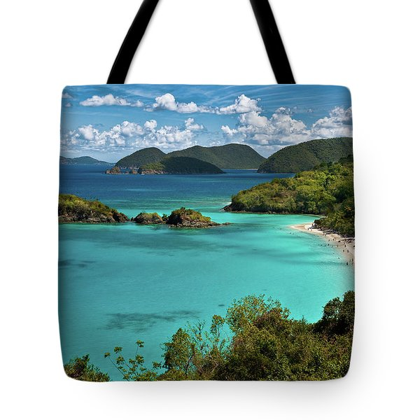 Trunk Bay Overlook Tote Bag by Harry Spitz