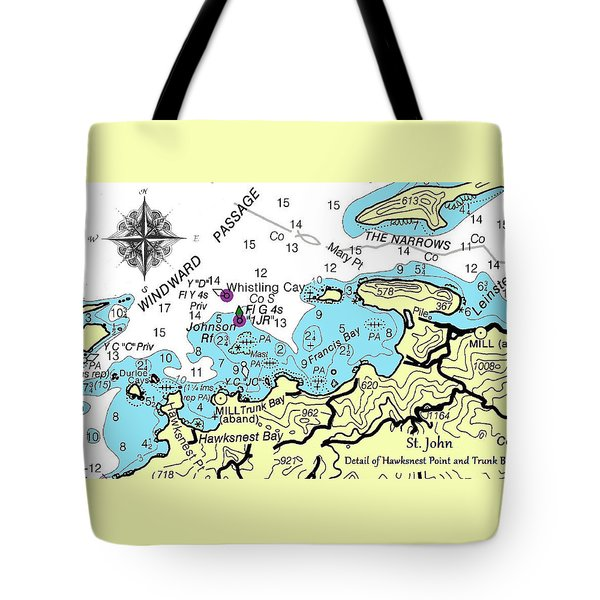 Trunk Bay, St. John Tote Bag