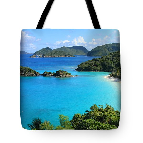 Trunk Bay St. John Tote Bag by Roupen  Baker