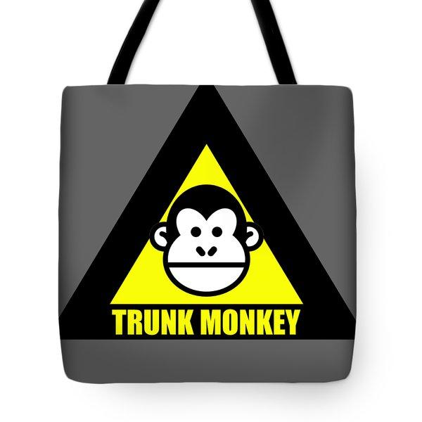 Trunk Monkey Tote Bag