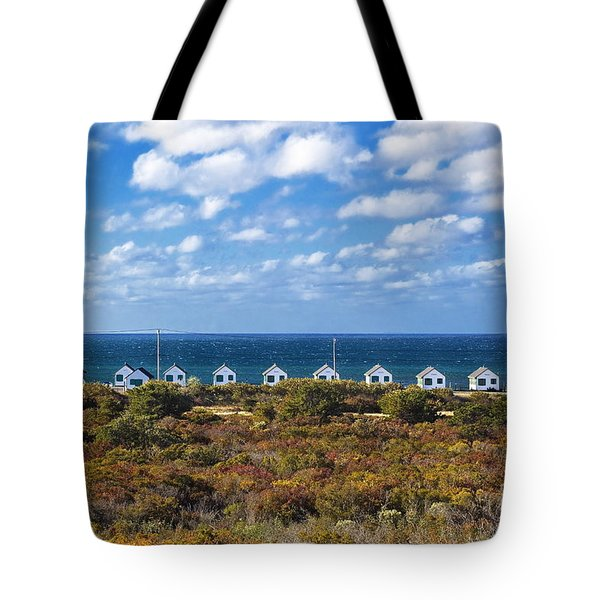 Truro Cottages Tote Bag by John Greim