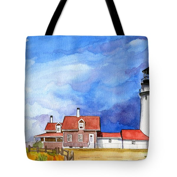 Truro Lighthouse Tote Bag