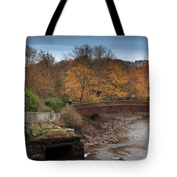 Tote Bag featuring the photograph Truro River by Brian Roscorla