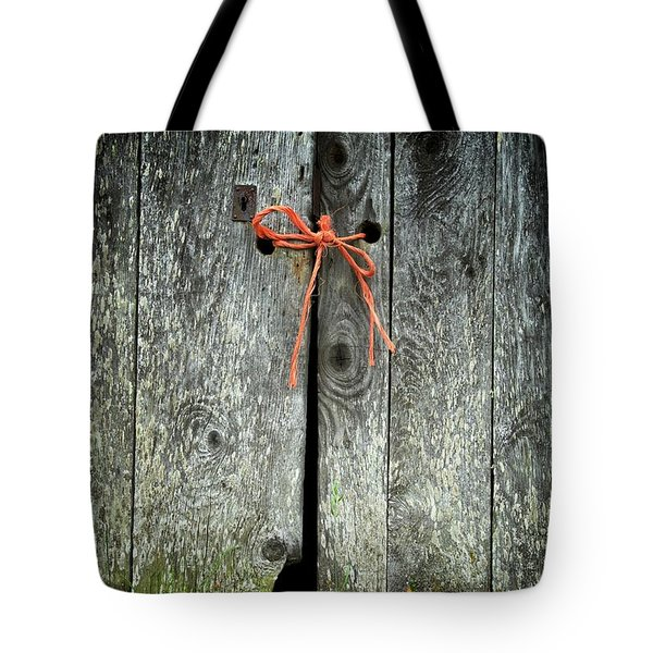 Trust Tote Bag by Colleen Williams