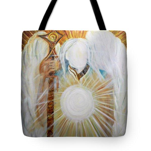 Trust - Michaelarchangel Series Tote Bag