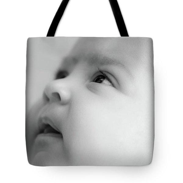 Trust Of A Child Tote Bag by Joni Eskridge