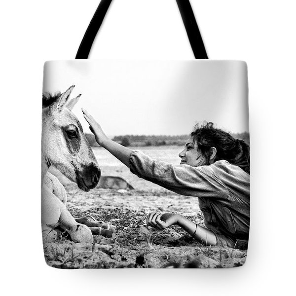 Trustful Friendship  Tote Bag