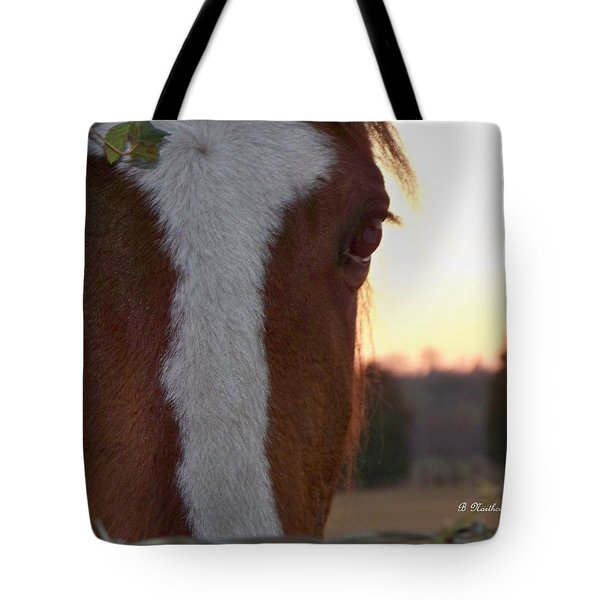 Tote Bag featuring the photograph Trusting by Betty Northcutt