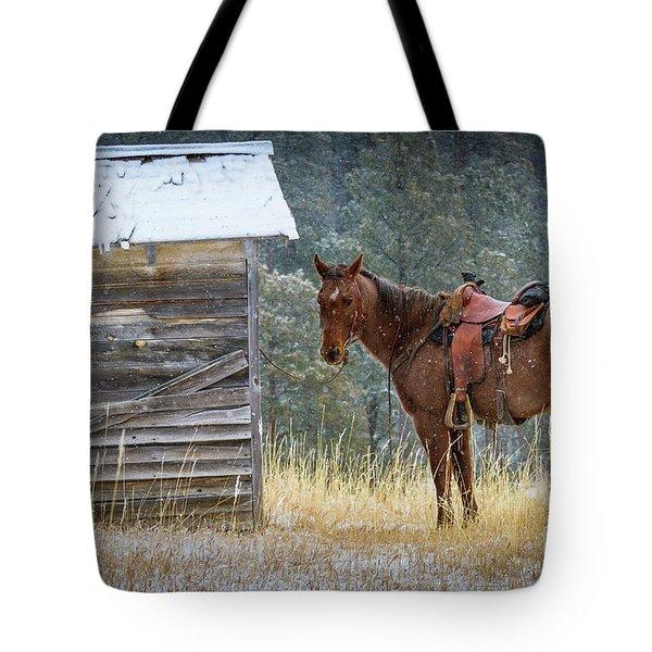 Trusty Horse  Tote Bag