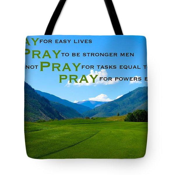 Truth In Fellowship Tote Bag