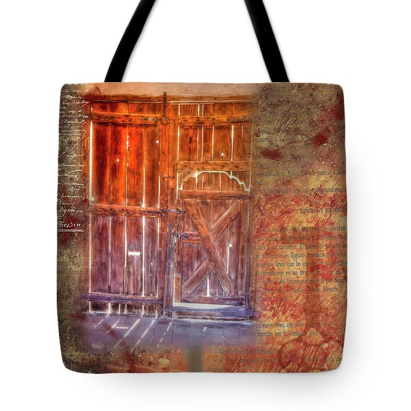Truth Shines In Tote Bag by Nadine Berg