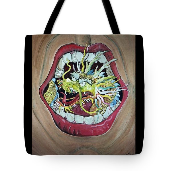 Try Flossing Tote Bag