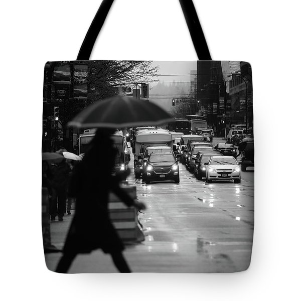 Tote Bag featuring the photograph Trying To Stand Out  by Empty Wall