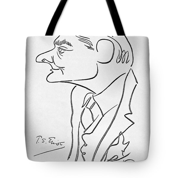 T.s. Eliot (1888-1965) Tote Bag by Granger