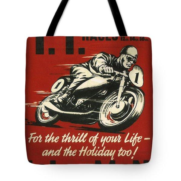 Tt Races 1961 Tote Bag