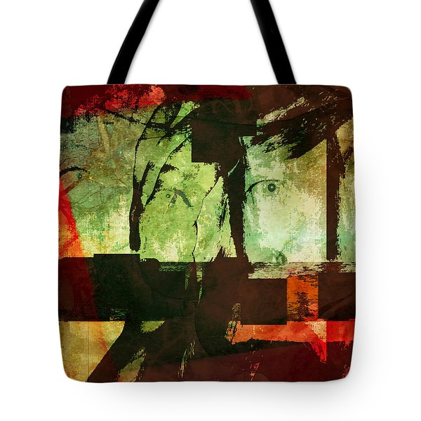 Reality, Illusion, And Perception Tote Bag by Danica Radman