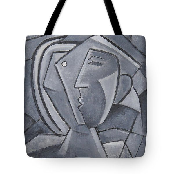 Tu Y Yo Tote Bag by Trish Toro