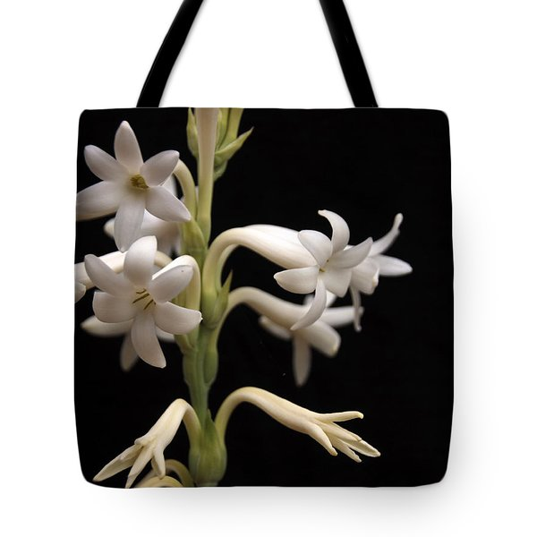 Tuberose Tote Bag by Charles Ables