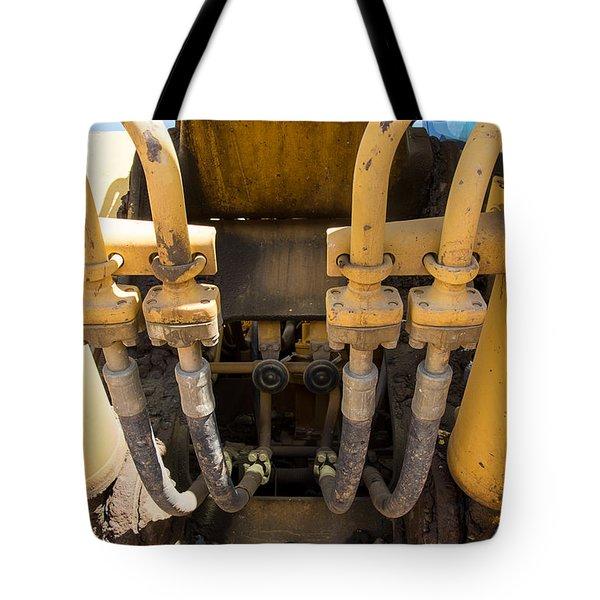 Tubes Tote Bag