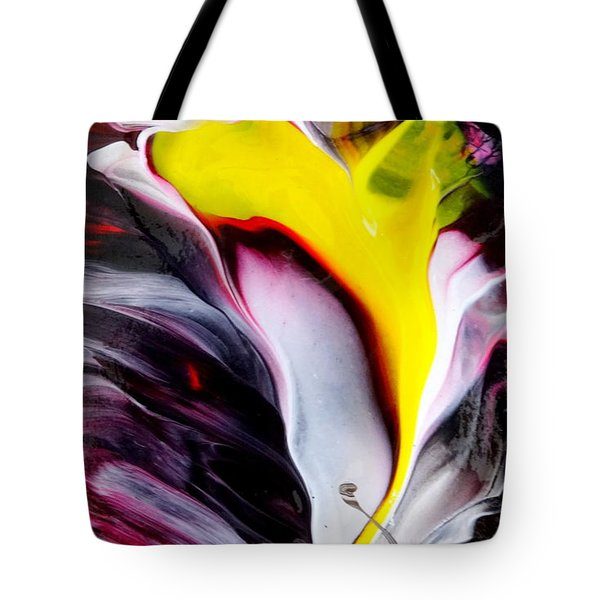 Tublar Rose Tote Bag by Fred Wilson