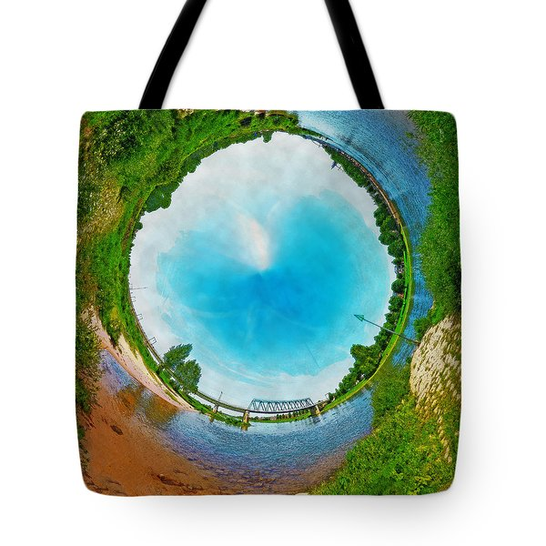 Tubular Panorama Deventer Tote Bag