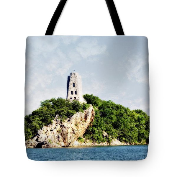 Tucker Tower Tote Bag by Lana Trussell