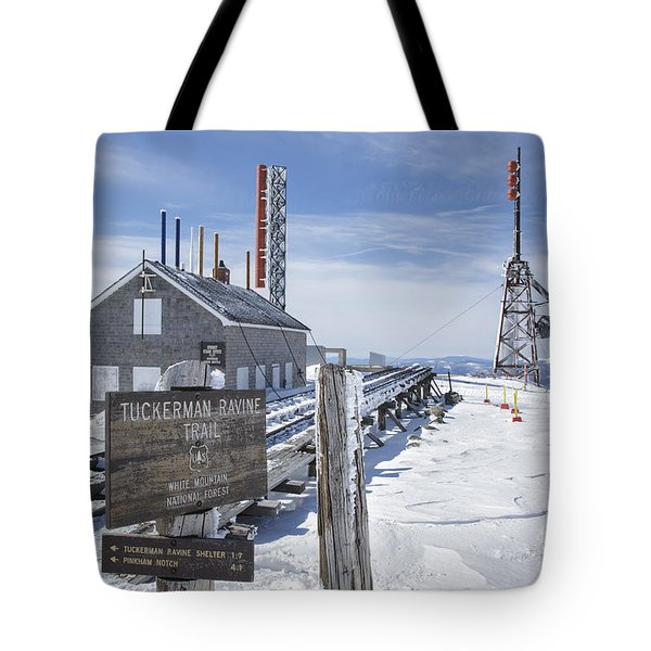 Tuckerman Ravine Trail - Mt Washington New Hampshire Tote Bag