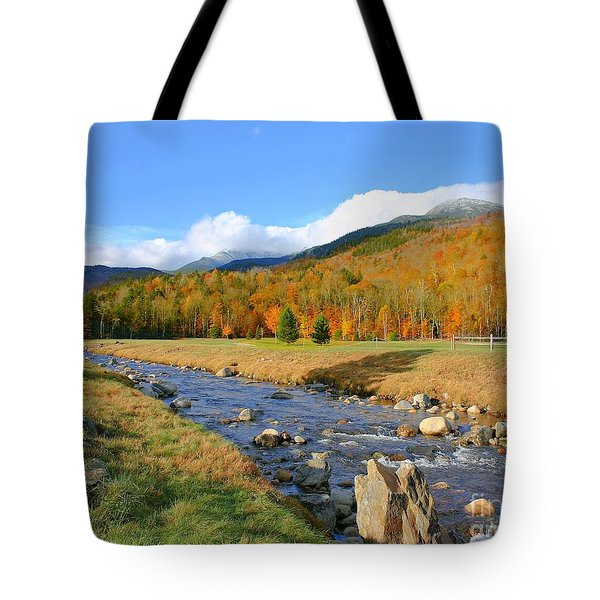 Tuckerman's Ravine Tote Bag