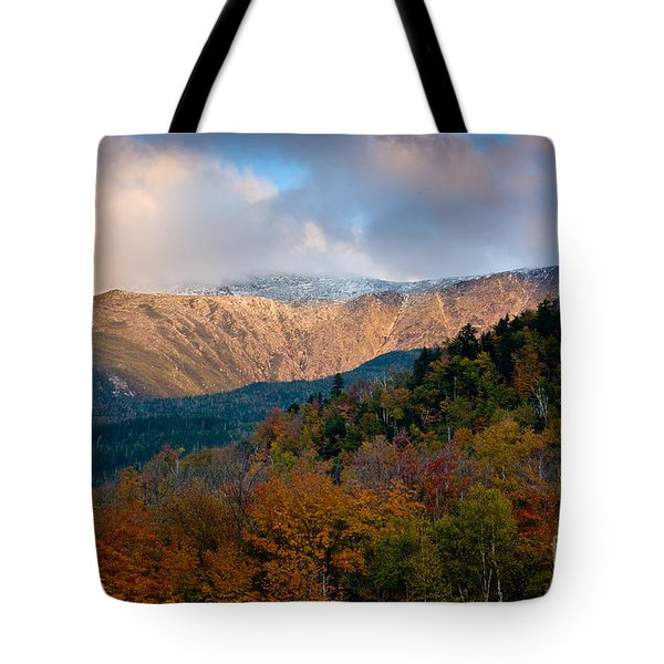 Tuckermans Ravine In Autumn Tote Bag