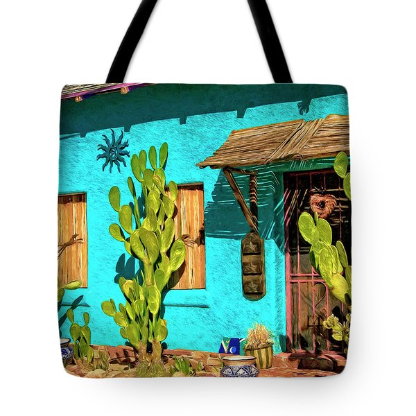 Tucson Blue Tote Bag