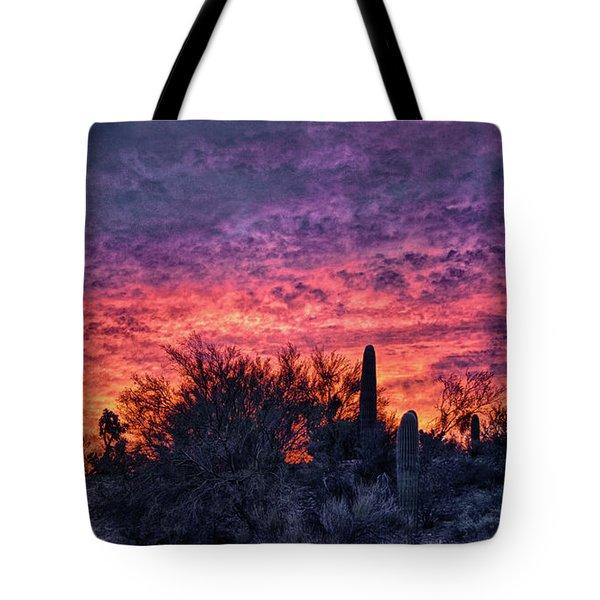 Tucson Sunrise Tote Bag