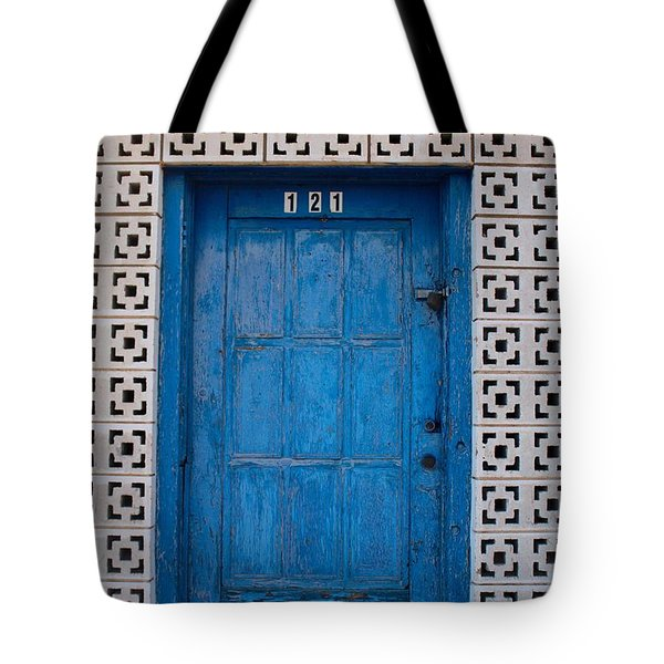 Tucumcari Door New Mexico  Tote Bag