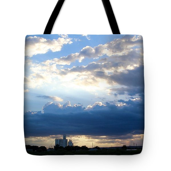 Tucumcari Grain Tower Tote Bag