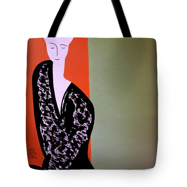 Tote Bag featuring the painting Tuesday Afternoon by Bill OConnor