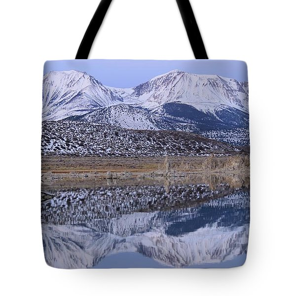 Tufa Dawn Winter Dreamscape Tote Bag