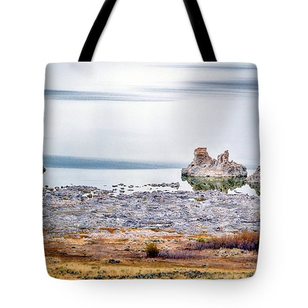 Tufa Formations At Mono Lake Tote Bag