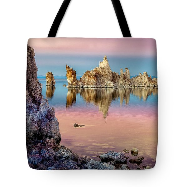 Tufas At Mono Lake Tote Bag