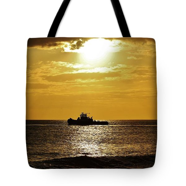 Tote Bag featuring the photograph Tug 24/7 by Craig Wood