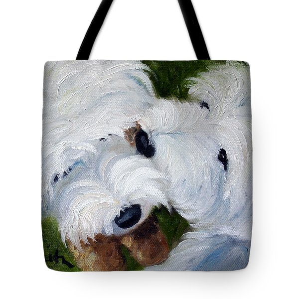 Tug Of War Tote Bag by Mary Sparrow
